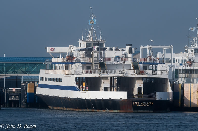 Ferry at Cape May Dock