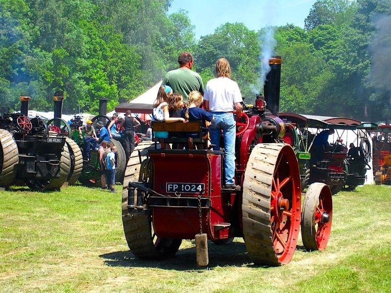 Steam Fair, Sussex, UK