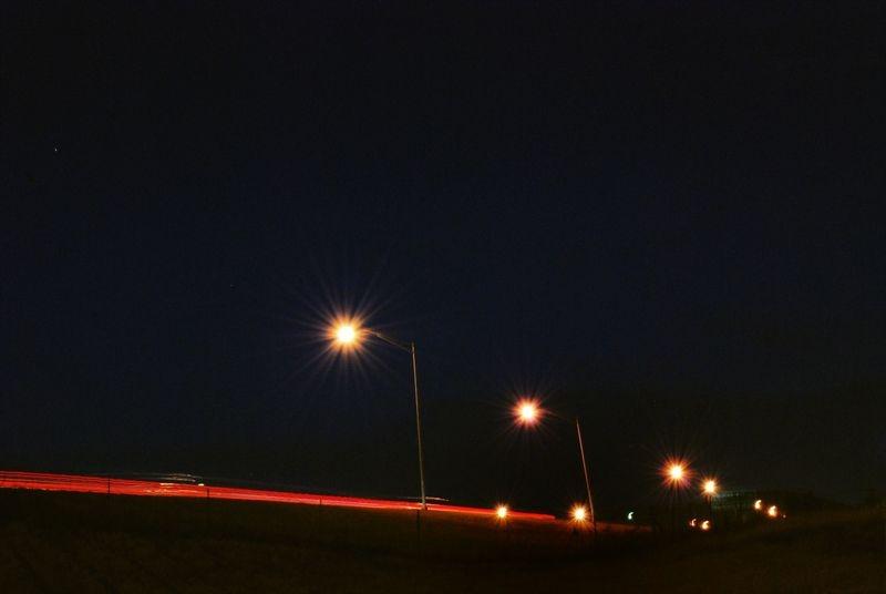 I-40 at 6 a.m.