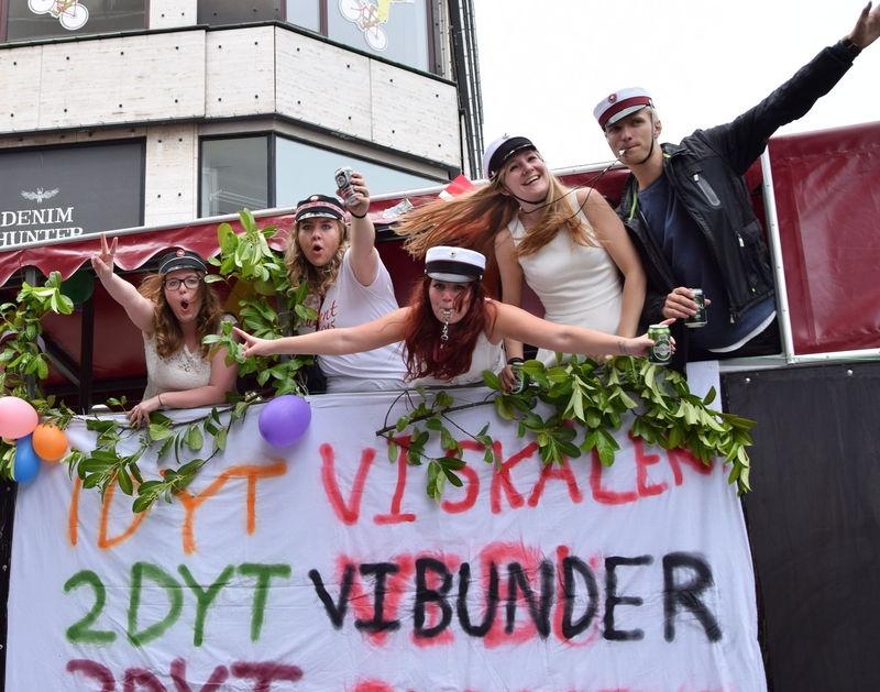 Student Graduation in Copenhagen