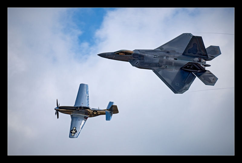 Mustang and Raptor