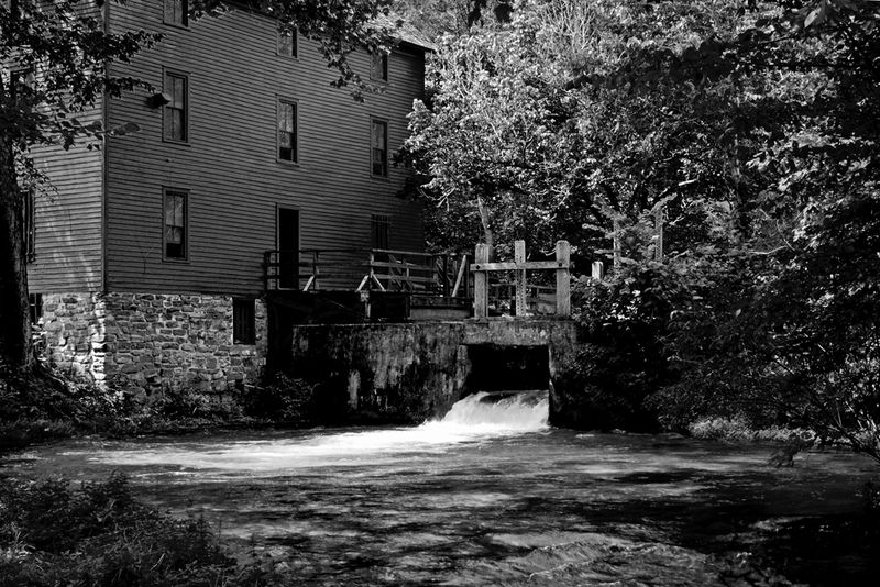 Alley Mill at Alley Spring, Eminence Missouri USA