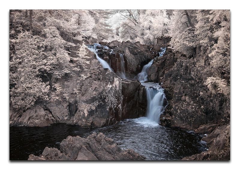 Split Rock Falls, Adirondack State Park, NY, USA