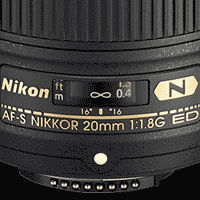 20mm f/1.8G AF-S FX Nikkor Review