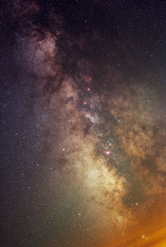Milky Way D810A + Sigma 50mm f/1.4 Art