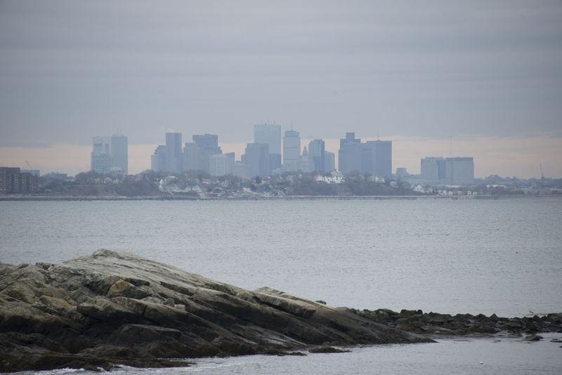 Boston Skyline from Nahant, MA