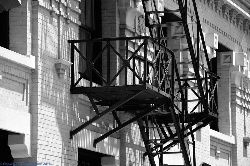 fire escape detail