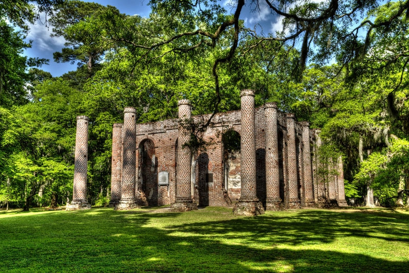 Old Sheldon Church, Beaufort County, S.C.
