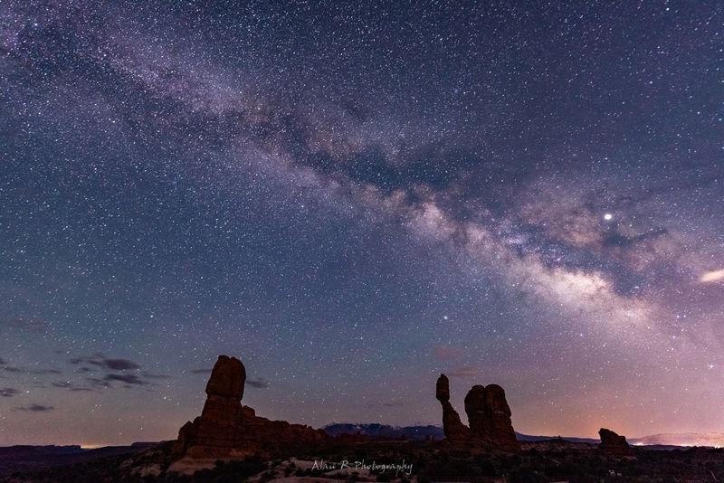 Milky Way at Balanced Rock