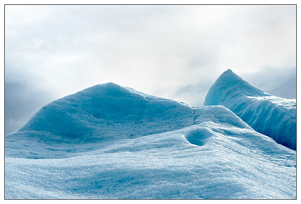 Spencer Glacier detail