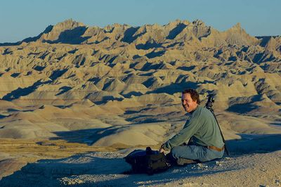 Bob Johnson in the Badlands