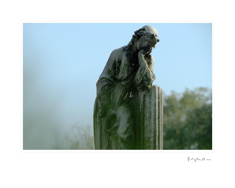 Graveyard Satue