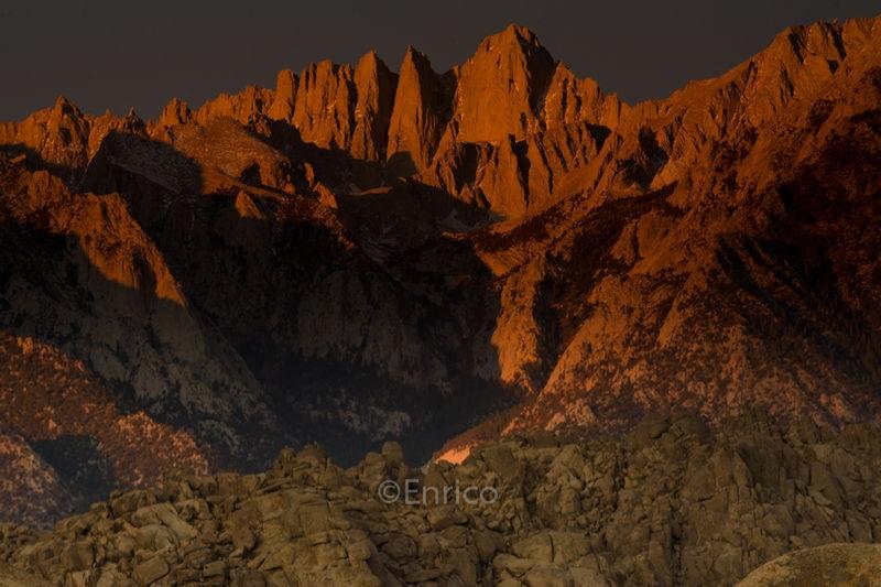 Mount Whitney at Sunrise 2