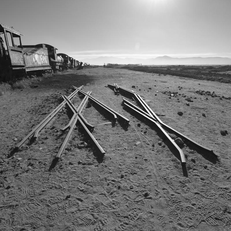 Train cementary Uyuni
