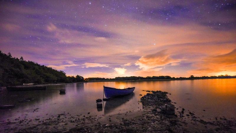 Lough Carra at night