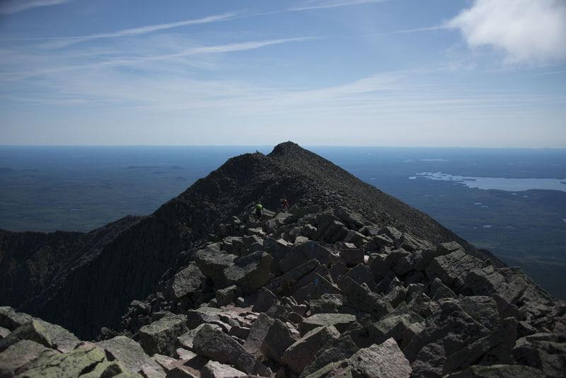 Knife Edge Trail - Summit of Mount Katahdin