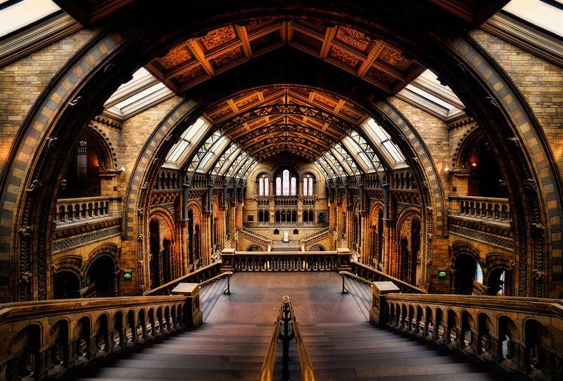 British Museum--Main Hall