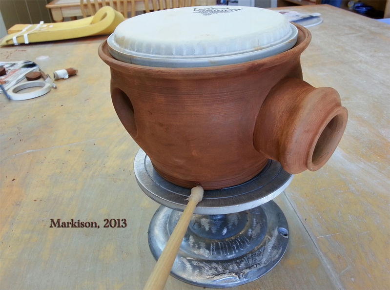 Udu Combo Drum; Hand Thrown
