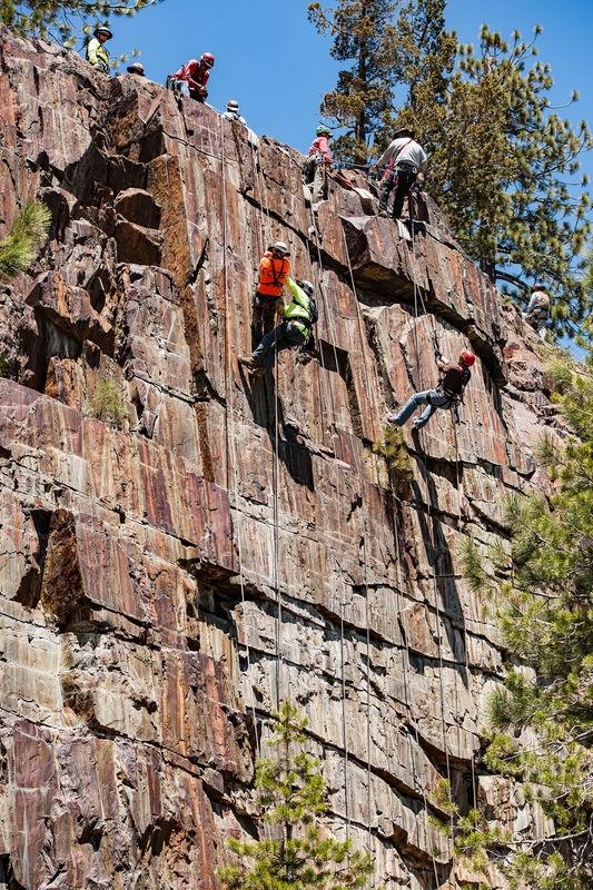 Yuba River, Rock Climbers