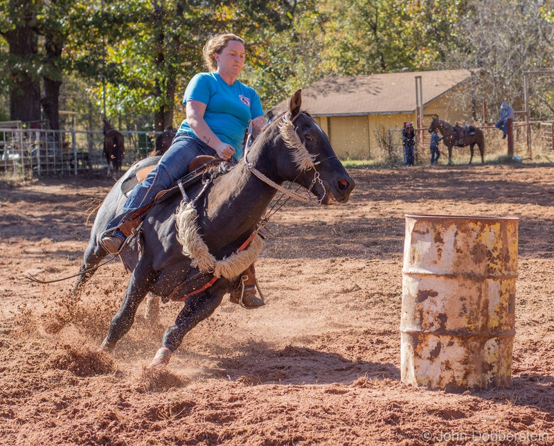 Barrel racing photos