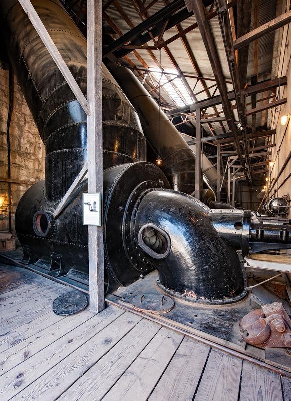 Folsom Powerhouse, Turbine Room