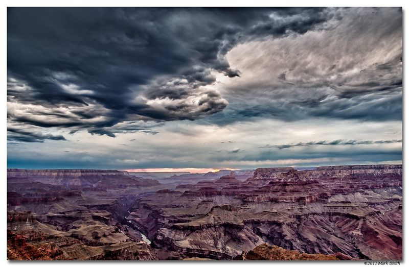 Storm at the Grand Canyon