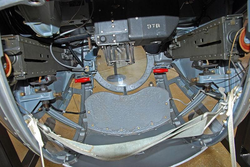 Ball Turret Gun Detail