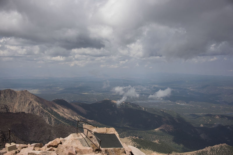 View from Pike's Peak