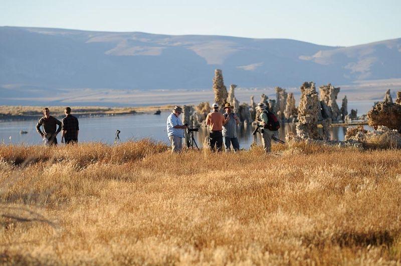 Nikonians at Mono Lake