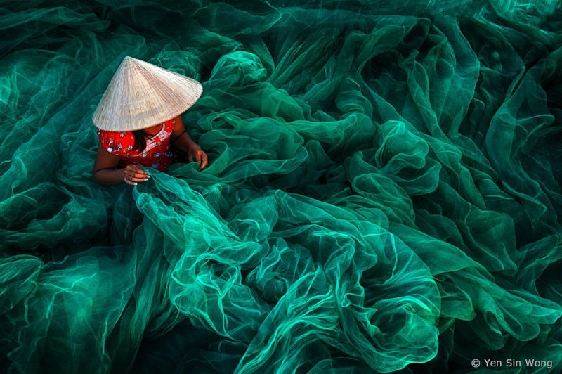 "1st Place Winner - ""Phan Rang Fishing Net Making"""
