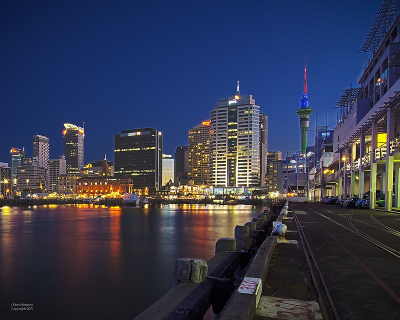 Auckland from the Harbor