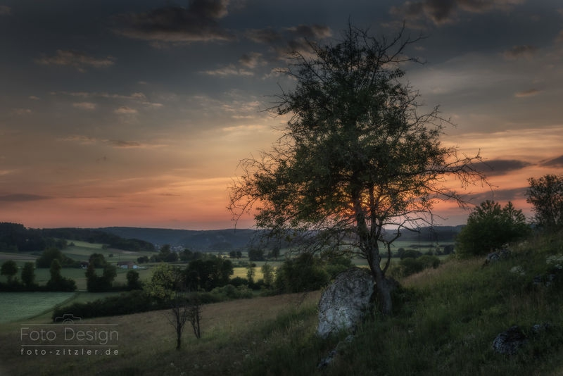 Holzheim sunset