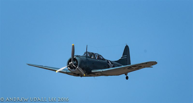 Douglas Dauntless Dive Bomber, hero of Midway
