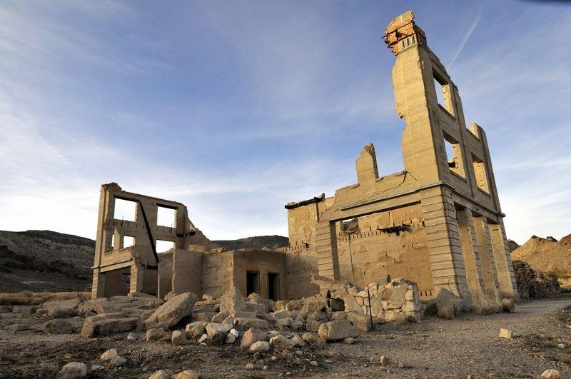 Rhyolite Ghost Town, Nevada