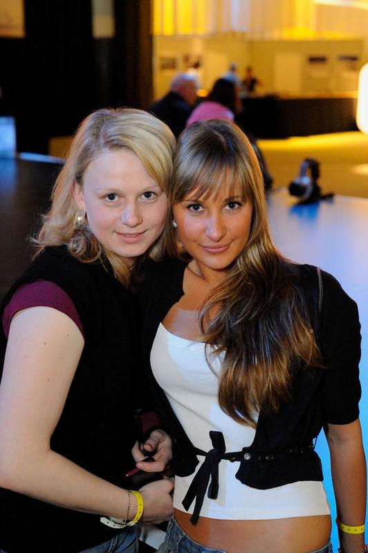 Nice Girls at Nikon Solutions Expo at Cologne, Germany