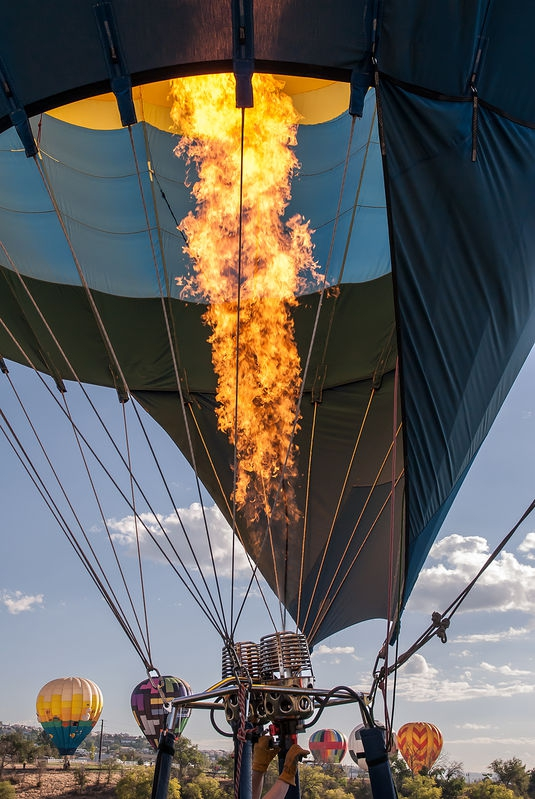 Light the Burners, Reno Balloon Festival