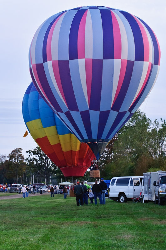 Landing at the Fair Grounds