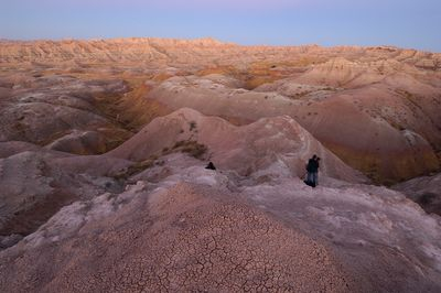 Two Nikonians at dawn in the Badlands