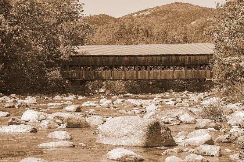 Covered Bridge, Conway, New Hampshire