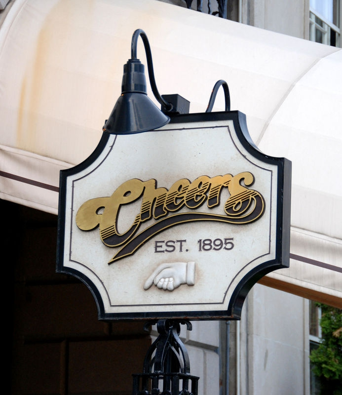 """CHEERS""  series classic sign..."
