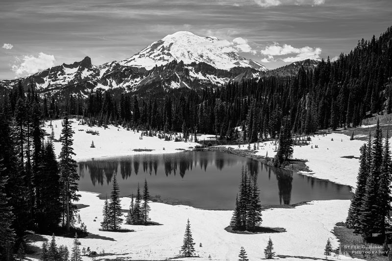 Mount Rainier from Tipsoo Lake, Washington, June 2019