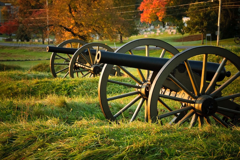 Artillery on Cemetery Hill
