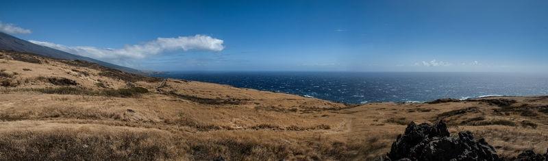 Windswept South Maui Panorama