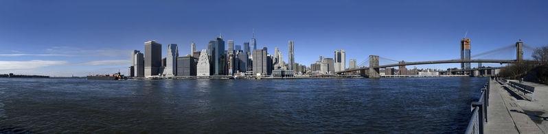 NYC - Brooklyn Bridge Skyline