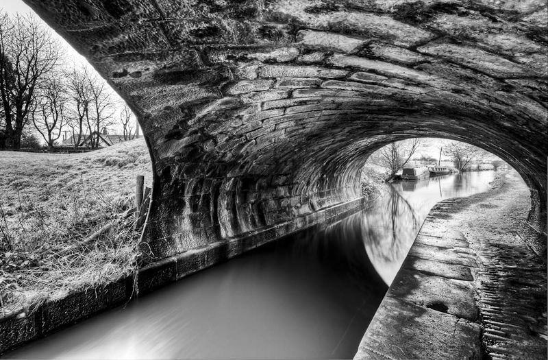 Asymmetry under the bridge