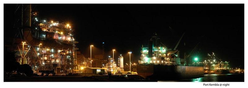 Port Kembla @ night