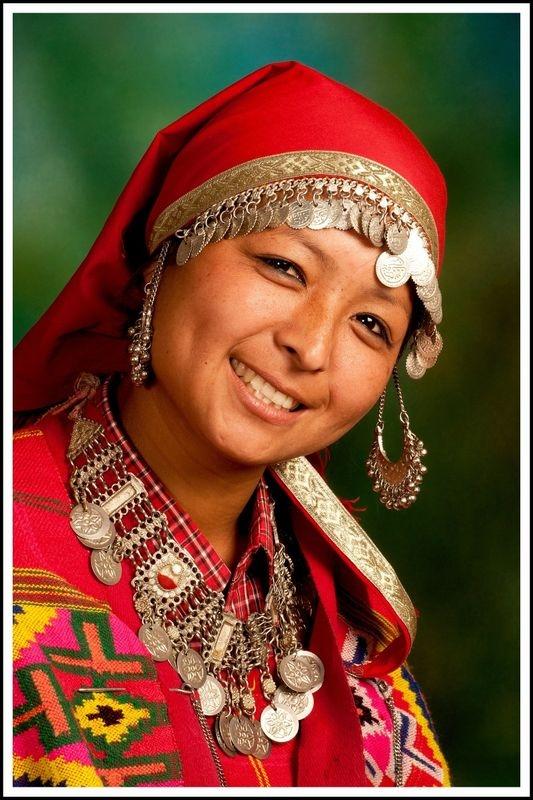 Village Lady in Local Tribal Attire