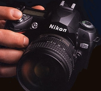 Nikon Coolpix 990 Folding Sunshade - DIY