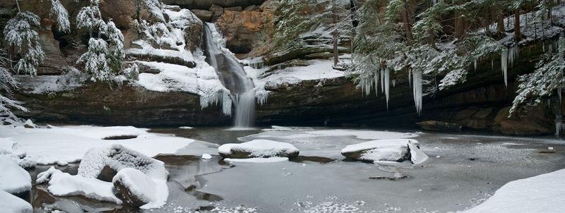 Cedar Falls Winter Pano