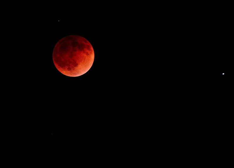 Lunar Eclipse April of 2014.
